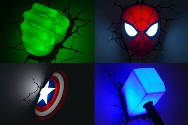 Wall Art Ideas Pertaining To Marvel 3D Wall Art (Image 19 of 20)