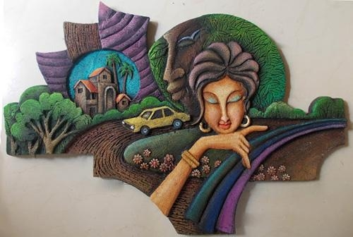Wall Art Ideas Regarding Bangalore 3D Wall Art (Image 17 of 20)