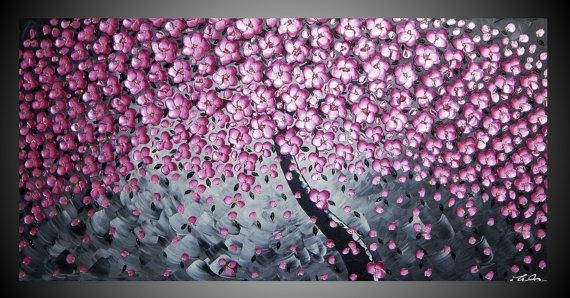 Wall Art Ideas Regarding Blossom White 3D Wall Art (Image 18 of 20)