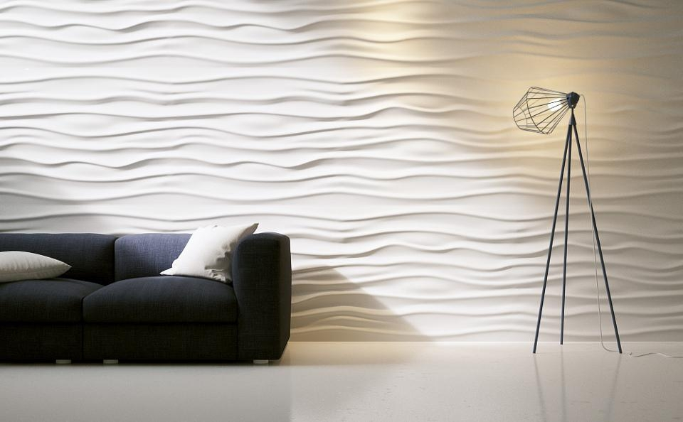 Wall Art Ideas Regarding Waves 3D Wall Art (Image 13 of 20)