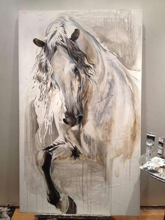 Wall Art: Inspiring Horse Canvas Art Horse Canvas Wall Art, Horse Intended For 3D Horse Wall Art (Image 19 of 20)