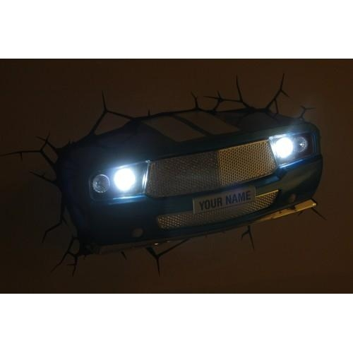 Wall Art Nightlight – Classic Car For Cars 3D Wall Art (View 16 of 20)