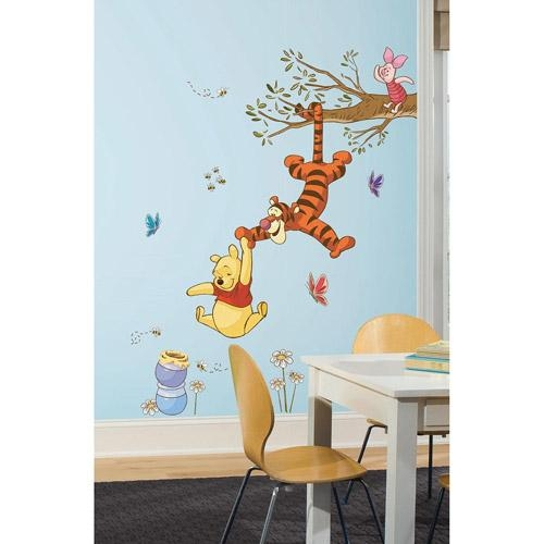 Wall Decals – Walmart Pertaining To 3D Wall Art Walmart (View 20 of 20)