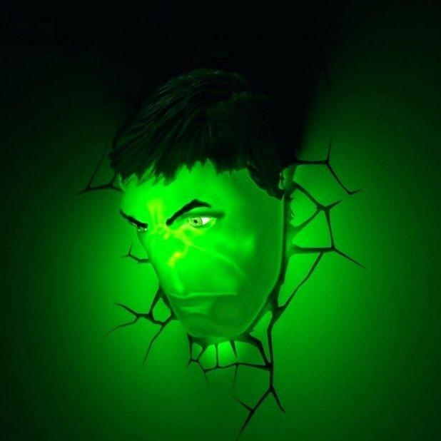 Wall Decor : 54 Avengersaar The Avengers 3D Wall Art Nightlight Pertaining To 3D Wall Art Night Light Spiderman Hand (View 16 of 20)
