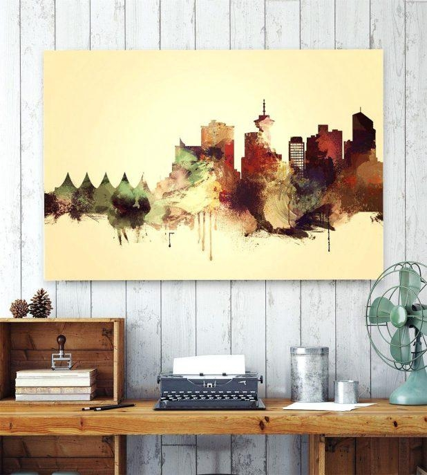 Wall Decor: Appealing Wall Decor Vancouver For Home Design For Vancouver 3D Wall Art (Image 18 of 20)