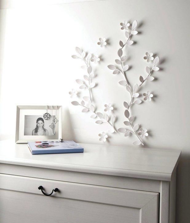 Wall Decor : Modern 3D Flower Wall Decor Wall Art Design Wall Pertaining To Umbra 3D Wall Art (View 11 of 20)