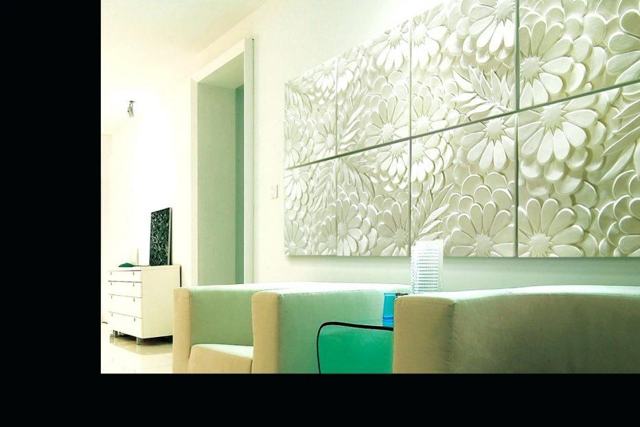 Wall Decor : Renter Friendly 3D Paper Wall Art 3D Decorative Wall Throughout Contemporary 3D Wall Art (Image 19 of 20)