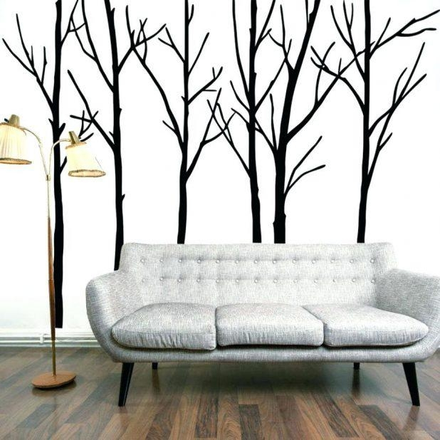 Wall Decor: Wonderful 3D Tree Wall Decor For Your House (Image 18 of 20)