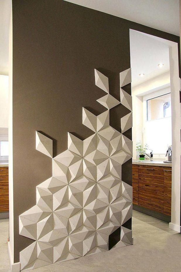 Wall Ideas : 3D Wall Art Sculptures 3D Wall Art Diy 3D Wall Decor Pertaining To Diy 3D Wall Art Decor (Image 20 of 20)