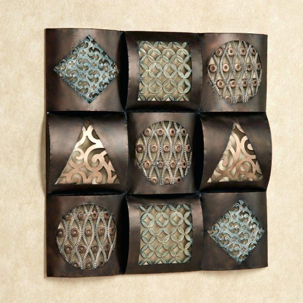 Wall Ideas: Bronze Wall Art. 3D Metal Wall Art Canada (View 6 of 20)