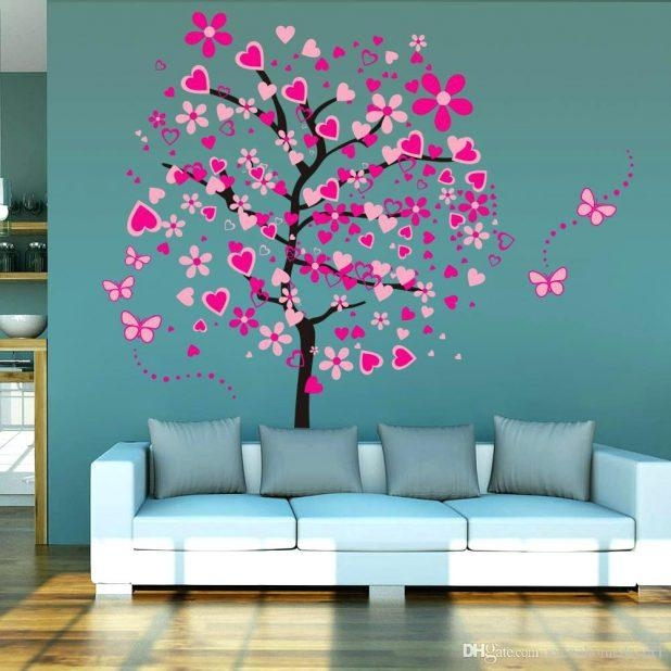 Wall Ideas: Cherry Blossom Wall Decor (Image 20 of 20)