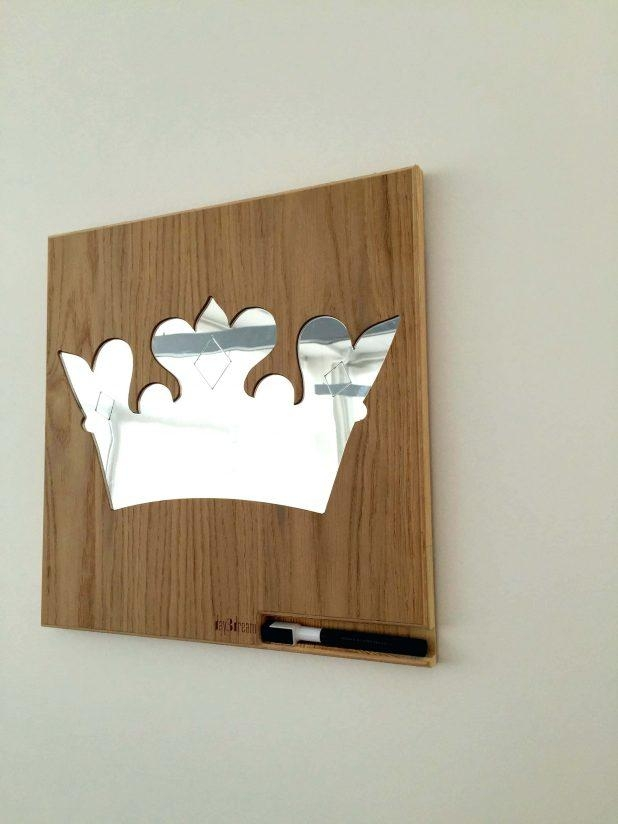 Wall Ideas : Crown Wall Decor For Nursery Uk Wooden Frame Wall Within 3D Princess Crown Wall Art Decor (Image 15 of 20)