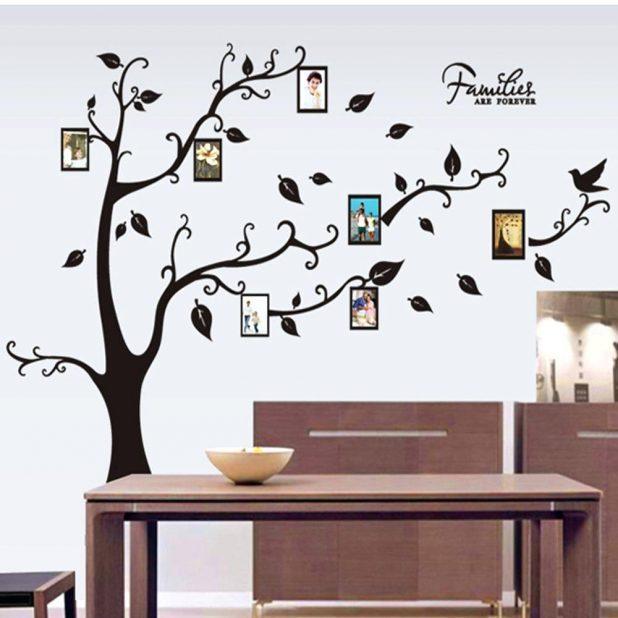 Wall Ideas: Family Tree Wall Art (View 13 of 20)