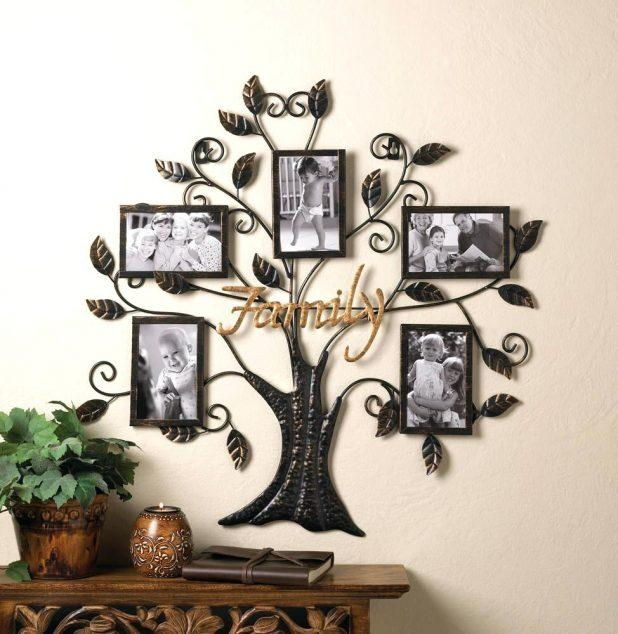 Wall Ideas: Family Tree Wall Art. Family Tree Wall Art Stickers Pertaining To Bed Bath And Beyond 3D Wall Art (Photo 20 of 20)