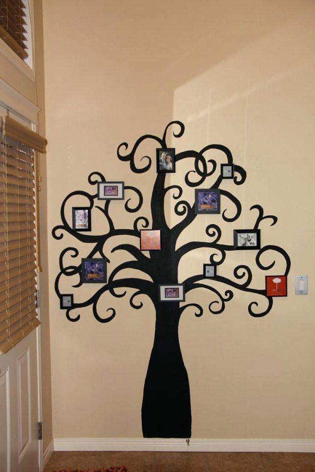Wall Ideas: Family Tree Wall Art (View 14 of 20)