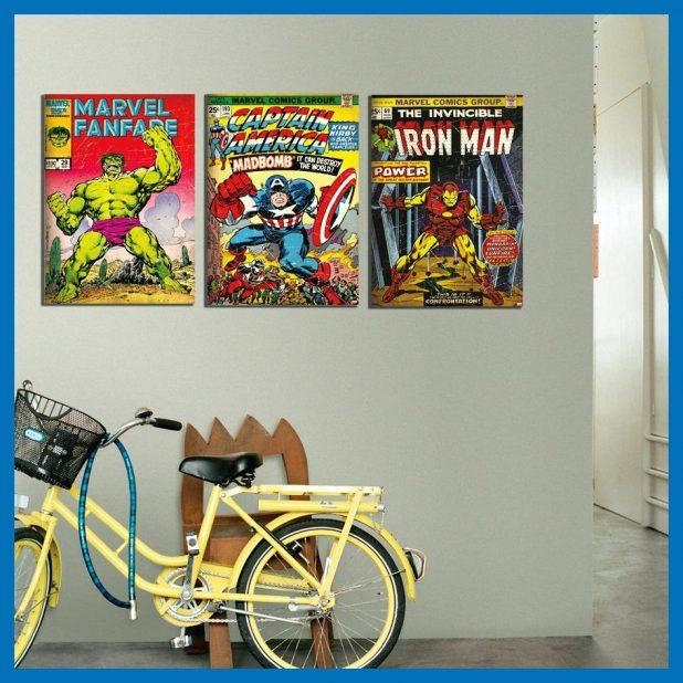 Wall Ideas: Marvel Wall Art. Marvel Comics Wall Art Uk (View 3 of 20)
