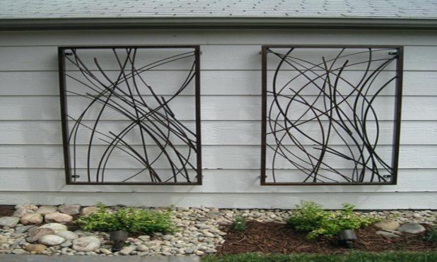 Wall Ideas: Metal Outdoor Wall Art (View 11 of 20)