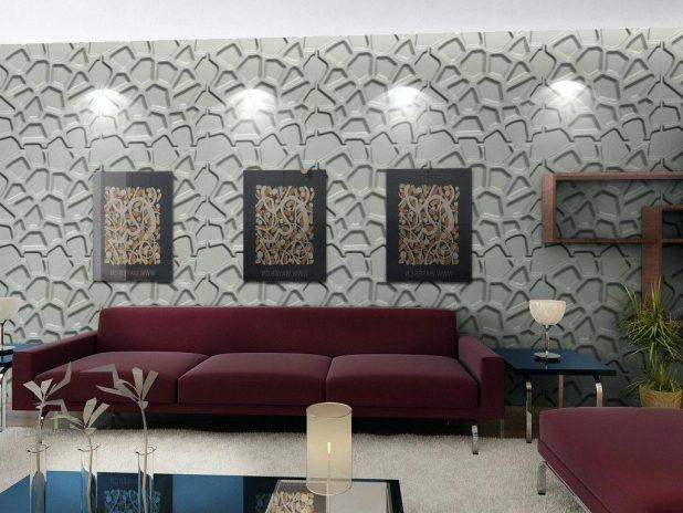 Wall Ideas: Wall Art 3D. Wallart 3D Wall Panels India (Image 19 of 20)