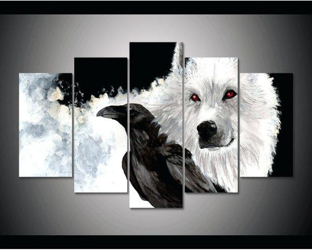 Wall Ideas : Wolf Head Vinyl Wall Stickers Wild Animal Art Wall Throughout Wolf 3D Wall Art (Image 14 of 20)