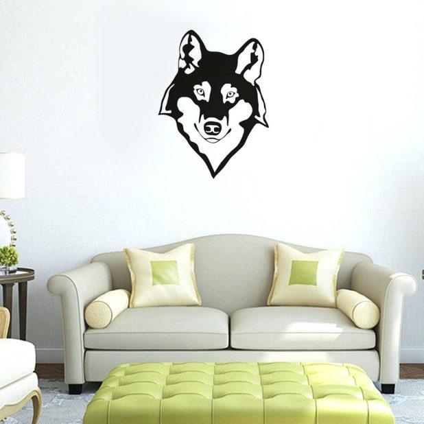 Wall Ideas: Wolf Wall Art. Wolf Pictures Wall Art (View 5 of 20)