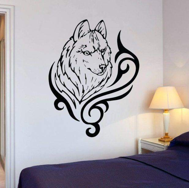 Wall Ideas: Wolf Wall Art. Wolf Pictures Wall Art (Image 17 of 20)