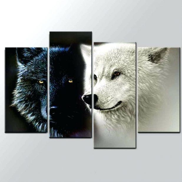 Wall Ideas: Wolf Wall Art. Wolf Pictures Wall Art (View 2 of 20)