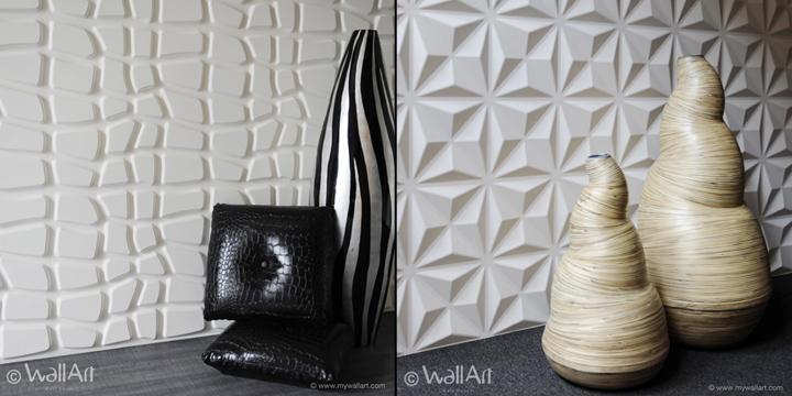 Wallart Eco Friendly 3D Wall Panels » Retail Design Blog In 3D Wall Panels Wall Art (View 13 of 20)
