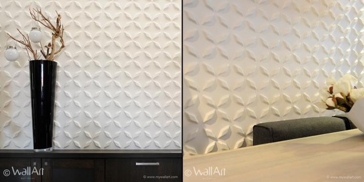 Wallart Eco Friendly 3D Wall Panels » Retail Design Blog Inside 3D Wall Panels Wall Art (Image 19 of 20)