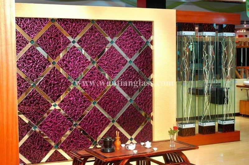 Wantian 3D Art Glass For Background Wall – Wantian 3D Glass (China In 3D Glass Wall Art (Image 20 of 20)