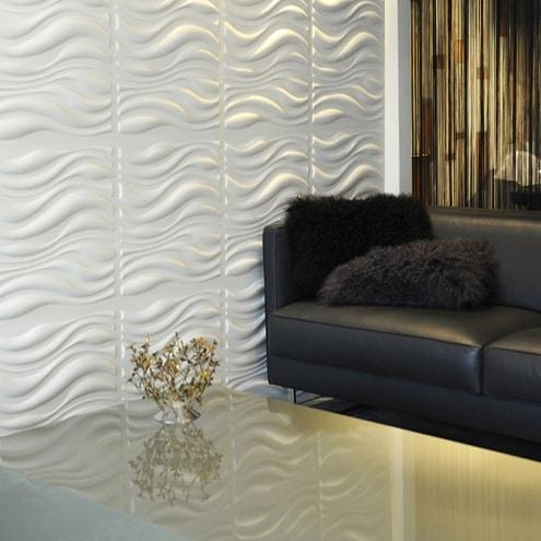 Waves Design – Decorative 3D Wall Panelswalldecor3D With Regard To Waves 3D Wall Art (Image 17 of 20)