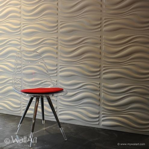 Waves Design – Decorative 3D Wall Panelswalldecor3D Within Waves 3D Wall Art (Image 19 of 20)
