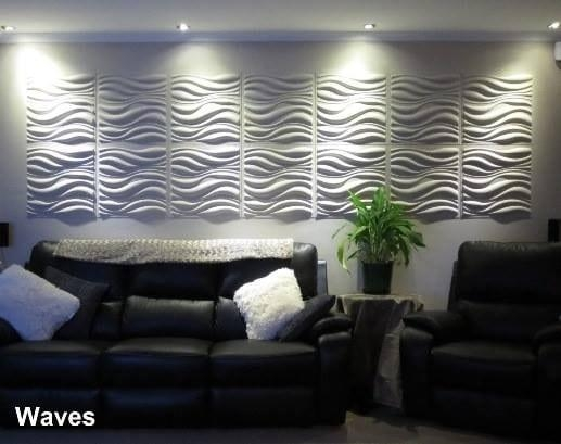 Waves Design – Decorative 3D Wall Panelswalldecor3D Within Waves 3D Wall Art (Image 20 of 20)