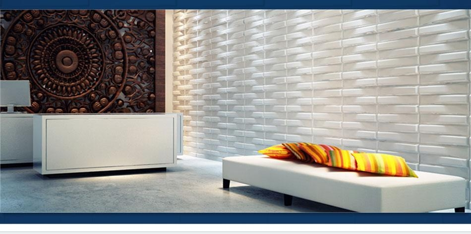 What Is Textured Wall Paneling With Painting 3D Wall Panels (Image 20 of 20)