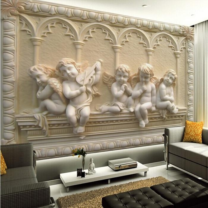 Wholesale Removable 3D Wall Murals Wallpaper With Jade European For 3D Wall Art Wallpaper (Image 20 of 20)