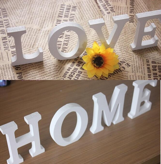 Wood Word Wall Art (Image 20 of 20)