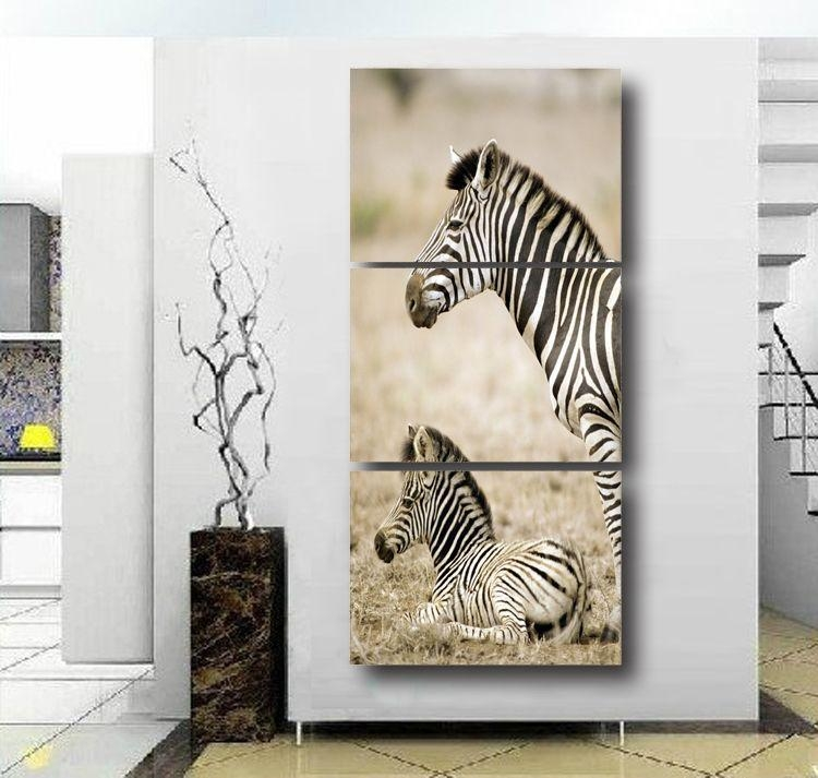 Zebra 3D Wall Art | Wallartideas Inside Zebra 3D Wall Art (Photo 5 of 20)