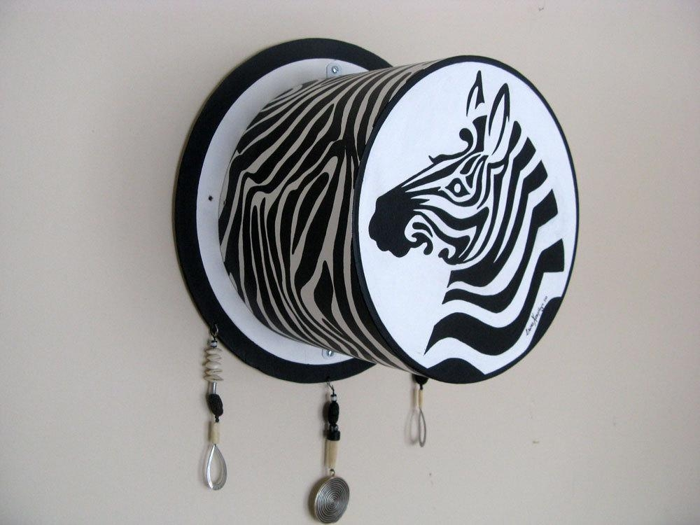 Zebra 3D Wall Art | Wallartideas Throughout Zebra 3D Wall Art (Image 16 of 20)