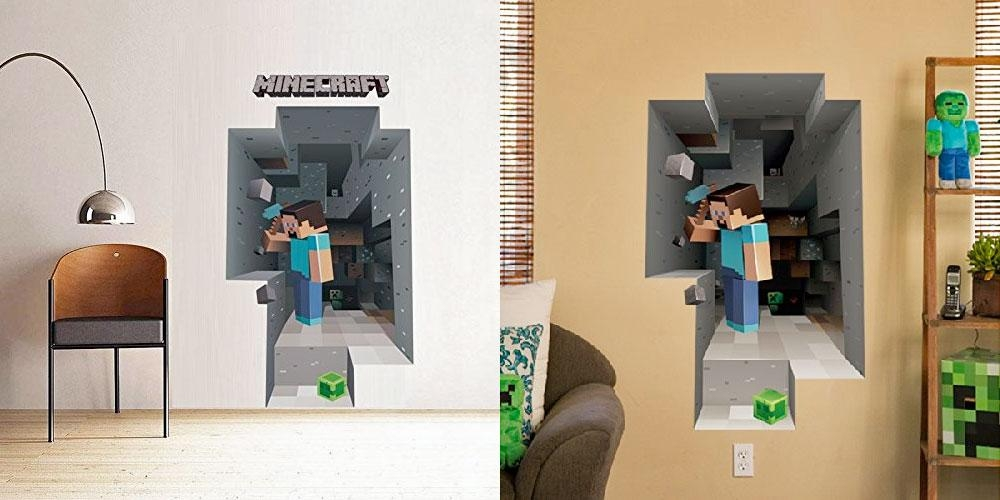 Zspmed Of Minecraft Wall Art Luxury On Home Decorating Ideas With Inside Minecraft 3D Wall Art (Image 20 of 20)