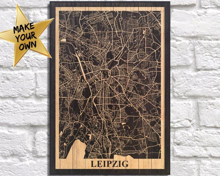 Featured Image of Personalized Map Wall Art