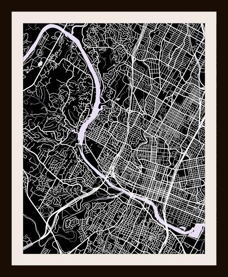 18 Best Map Art Images On Pinterest | Cartography, Map Art And Cards Throughout City Prints Map Wall Art (Image 2 of 20)