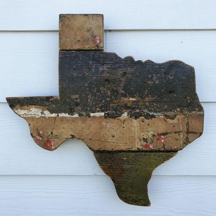 203 Best Atxfrontporch Images On Pinterest | Texas Signs, Etsy For Texas Map Wall Art (Image 2 of 20)