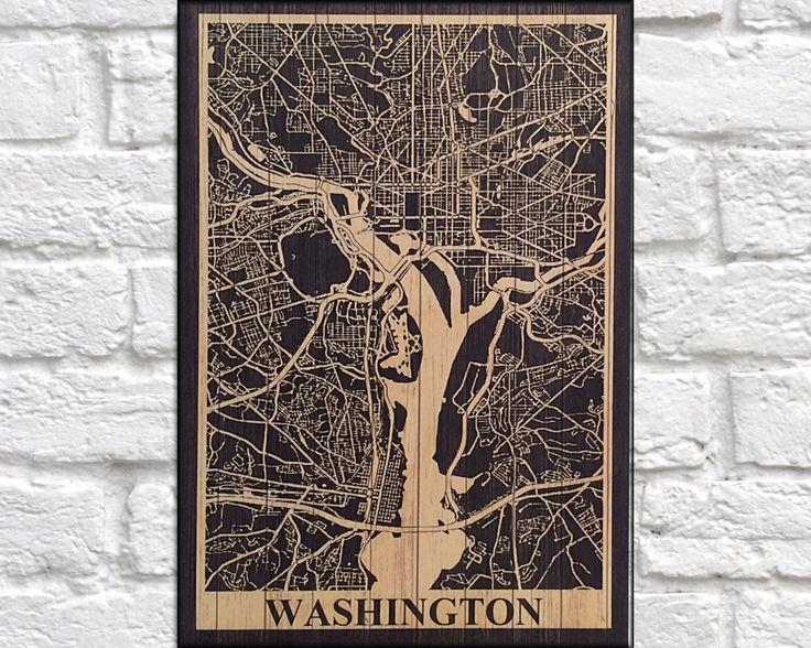 22 Best Wood Wall Art Flags & Map Art Images On Pinterest | Wood With Washington Dc Map Wall Art (Image 1 of 20)
