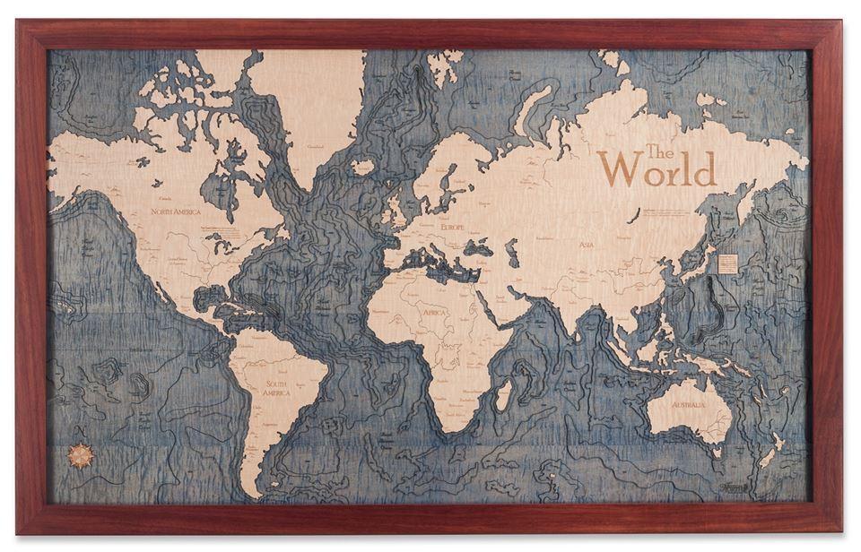 3 D Nautical Chart Art – Marine Art As Wall Charts And Table Charts For Nautical Map Wall Art (Photo 1 of 20)