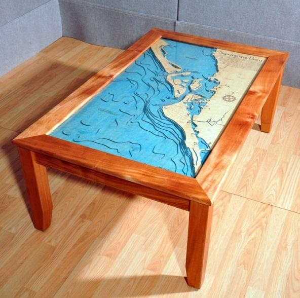 3 D Nautical Chart Art – Marine Art As Wall Charts And Table Charts With Nautical Map Wall Art (Photo 11 of 20)