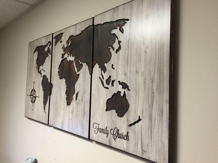 34 Best Business Signs Images On Pinterest | Business Signs Regarding Custom Map Wall Art (Image 2 of 20)