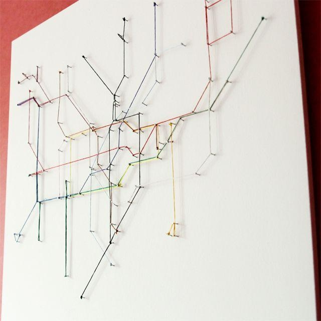 37 Best London Underground Wedding Table Plan Images On Pinterest With Metro Map Wall Art (Image 2 of 20)