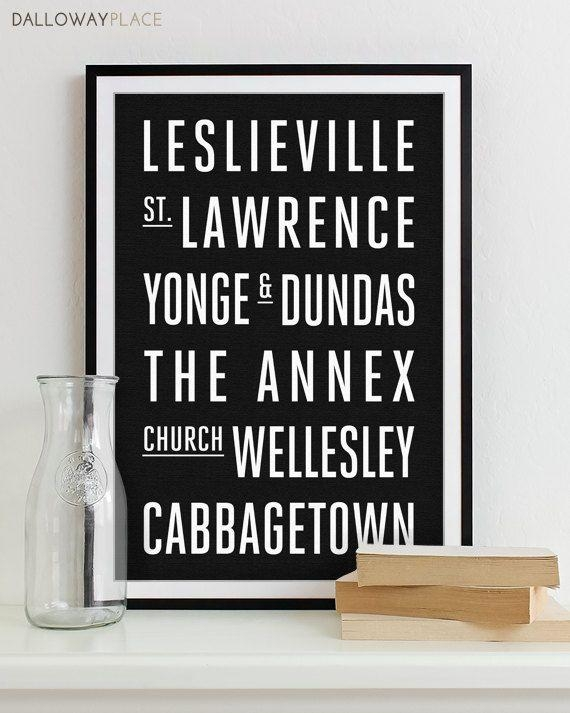44 Best Subway Wall Art (That I've Been On) Images On Pinterest Throughout Map Wall Art Toronto (Image 3 of 20)