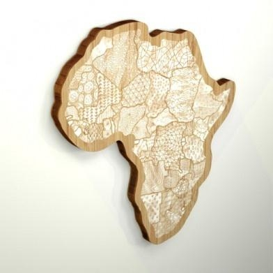 47 Best Maps Of Africa Images On Pinterest | Black Art, Cards And Within Africa Map Wall Art (Image 4 of 20)
