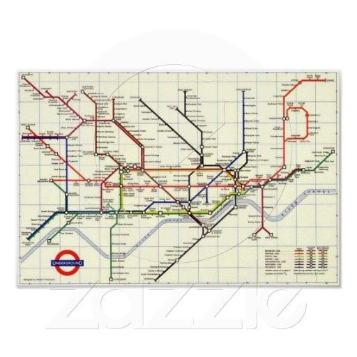 67 Best Underground Posters Images On Pinterest | London Regarding Tube Map Wall Art (Image 6 of 20)