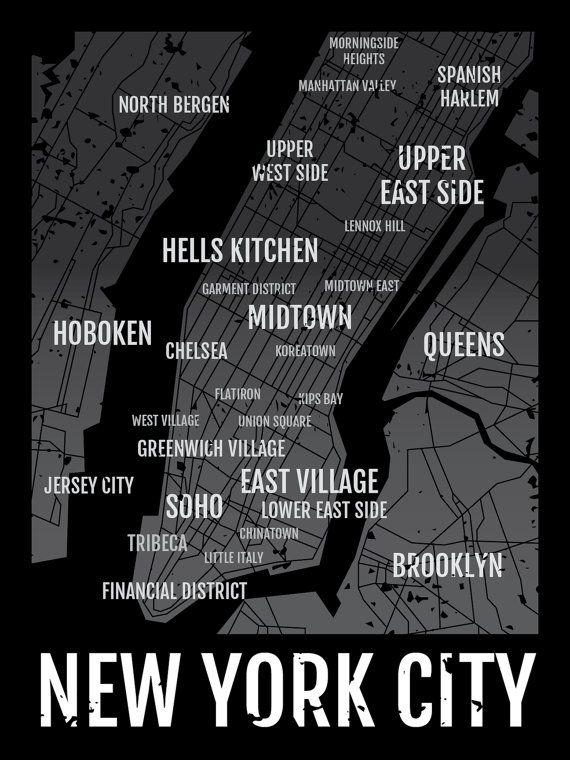 7 Best Art Suggestions Images On Pinterest | City Maps, New York With New York City Map Wall Art (Image 4 of 20)